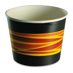 Pot bucket carton recyclable 85oz avec couvercle