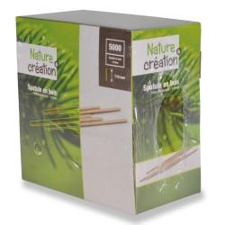 spatule 11cm en bouleau recyclable et compostable, boite distributrice