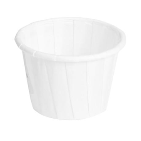 pot papier soufflé 30ml diam 42 compostable et recyclable -par 250