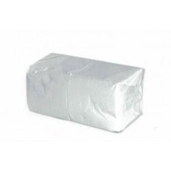 Serviettes 2 plis blanc 20x20cm- par 6000