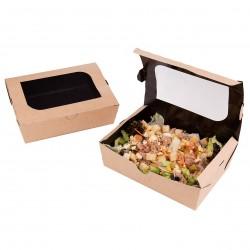 Boite salade avec fenêtre 730gr