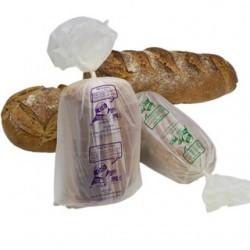 Sacs à pain tranché biocompost 16+5+5x45cm