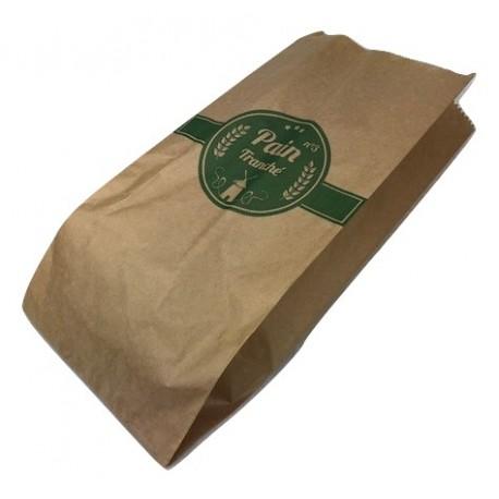 Sacs à pain tranché kraft 16+5+5x34cm