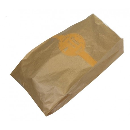 Sacs à pain tranché kraft 23+4+4x41cm