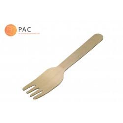 Fourchettes biodégradable en bois 16cm par 250 pièces