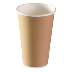 Gobelet carton brun recyclable expresso 30/35cl par 1000