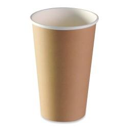 Gobelet carton brun recyclable expresso 45/48cl par 1000