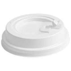Couvercle blanc voyageur pour gobelet carton 45cl - par 1000