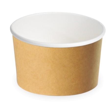 coupe à glace -carton brun - 100ml