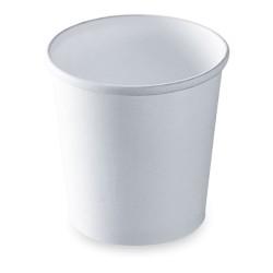 Pot à soupe carton recyclable blanc 480ml par 500