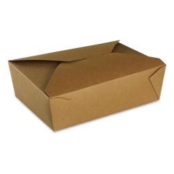 food box recyclable carton brun 2000ml - par 200 pièces