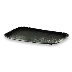 plateau traiteur noir 19x28cm par 100 unités