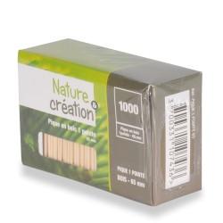 pique bois 6.5cm recyclable et compostable par 1000