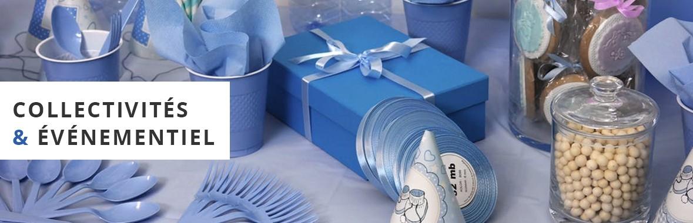 Emballages collectivités et événementiel